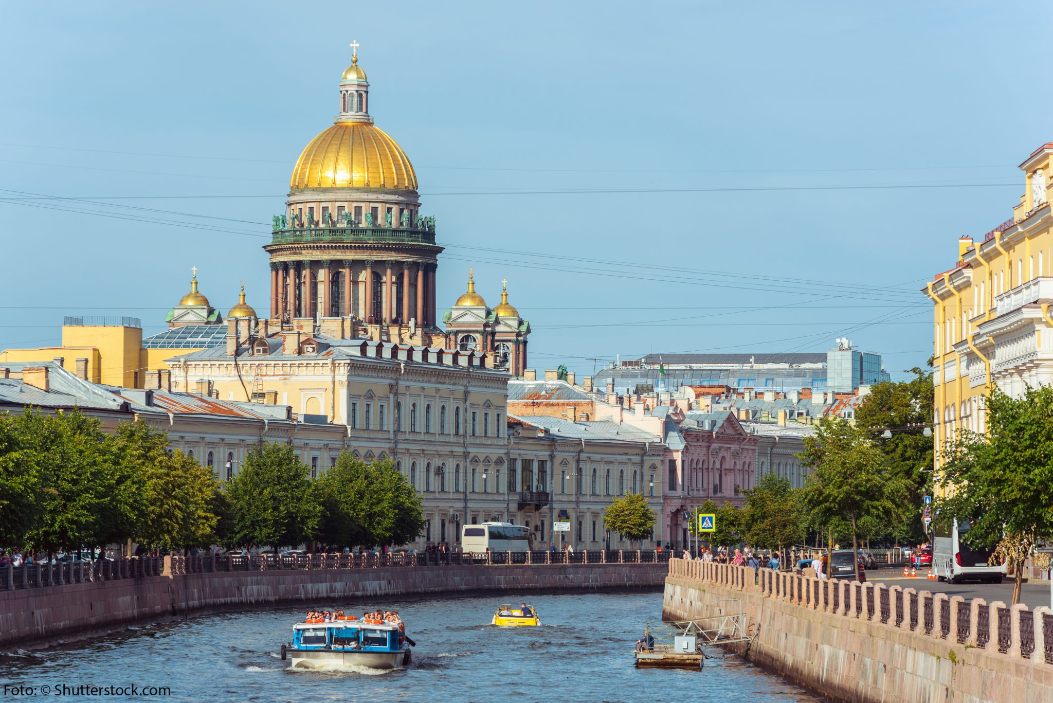 St. Petersburg – Perle der Ostsee